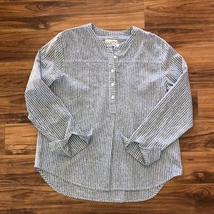 Universal Thread Goods stripped  blouse size L